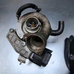 Przykładowa turbosprężarka do regeneracji